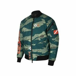 Nike Air Jordan City of Flight Green Camo Jacket